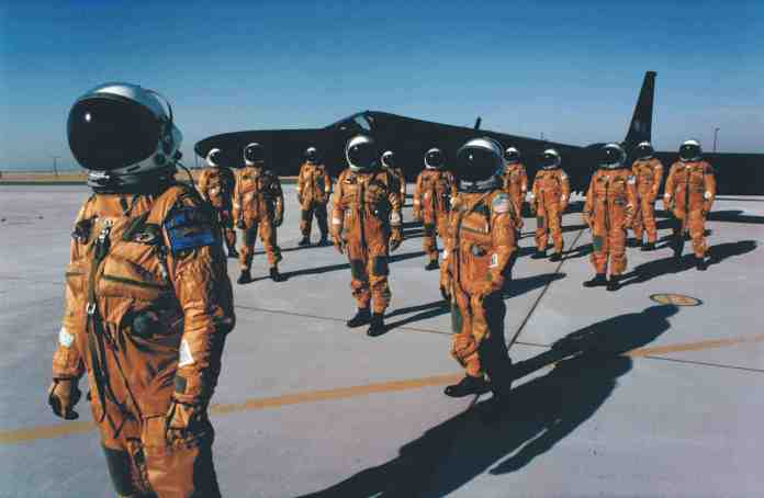 Pressure-suited U-2 Pilots from the 9th Recon Wing
