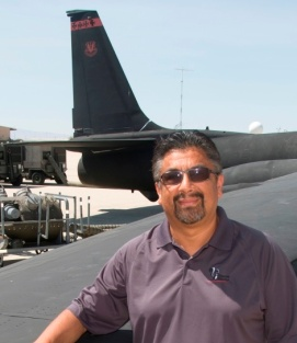 Michael Castaneda, U-2 flight ops manager for Lockheed Martin