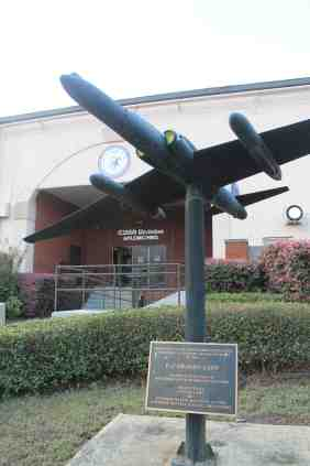 U-2 model at entrance Robins AFB