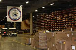 warehouse at Robins AFB
