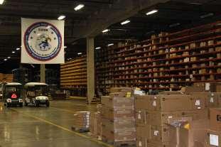 warehouse at Robins AFB